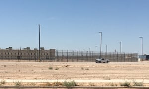 CoreCivic's Eloy detention center in Arizona.