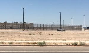 CoreCivic's Eloy detention center in Arizona.