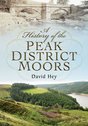 The cover of David Hey's A History of the Peak District Moors
