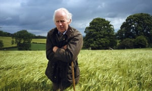 Simon Gourlay at Hill House farm, which he bought in 1958. He was a keen environmentalist and an advocate for alternative energy.