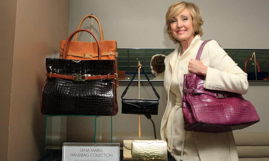 Lana Marks at Harvey Nichols in London in October 2009. The post of US ambassador to South Africa has been vacant since Patrick Gaspard resigned in 2016.