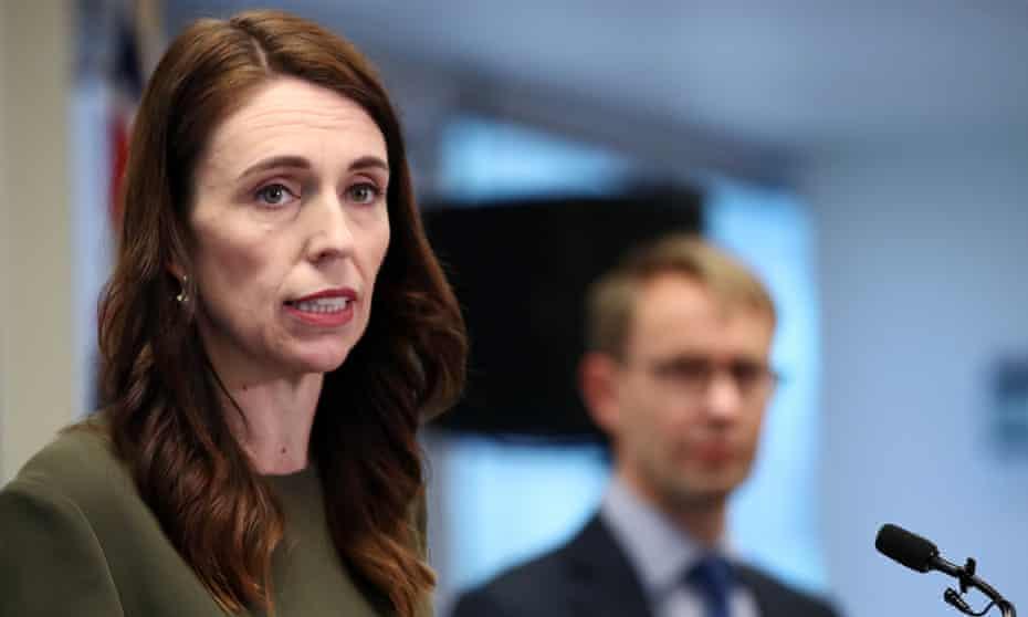 New Zealand prime minister Jacinda Ardern outlines the Covid-19 alert level changes.