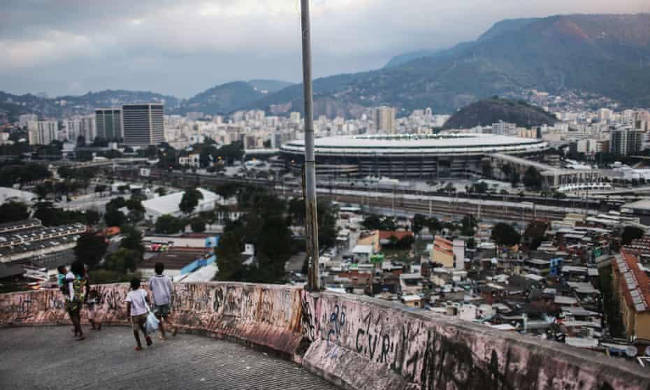 The Maracana stadium