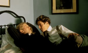 James Wilby and Hugh Grant as Maurice Hall and Clive Durham in Maurice.
