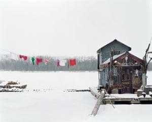 Peter's Houseboat, Winona, 2003.