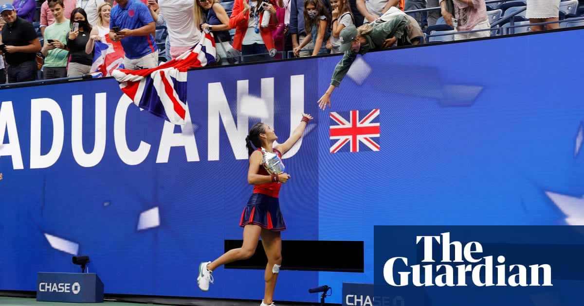 'Off the charts': New York tennis fans bewitched by Raducanu fairytale