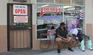 J Henry's barber shop in Orlando