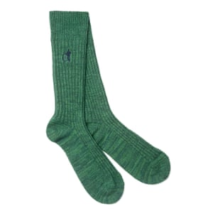Organic cotton socks, £18, londonsockcompany.com