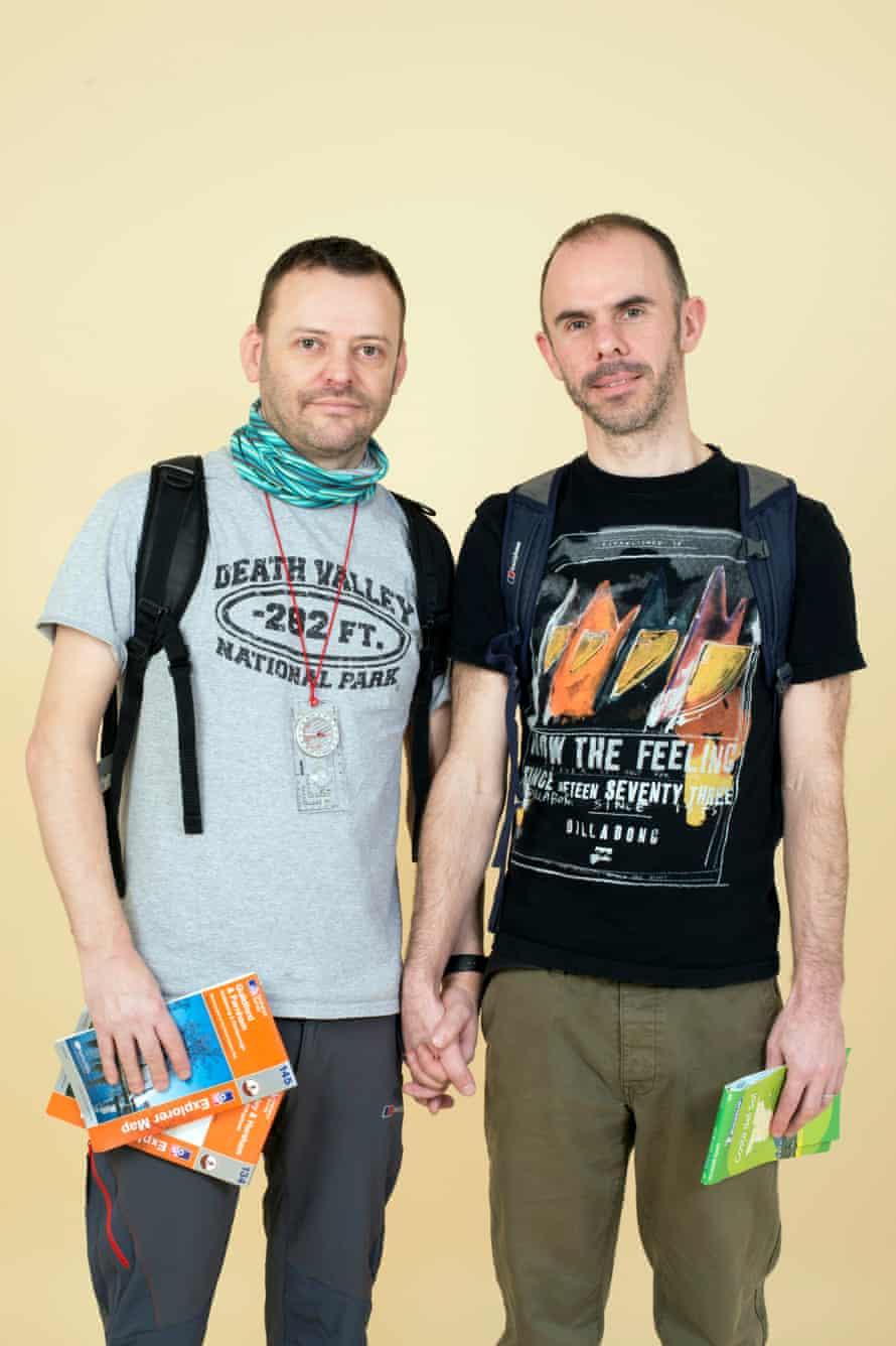 Paul O'Brien, left, and Mark Allan