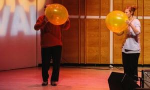 Yo La Tengo perform Lucier's Heavier Than Air.