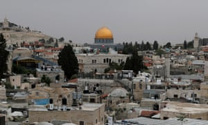 A general view of the Dome of the Rock and Jerusalem's old city.