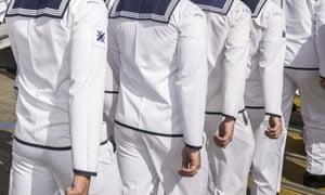 Royal Australian Navy sailors