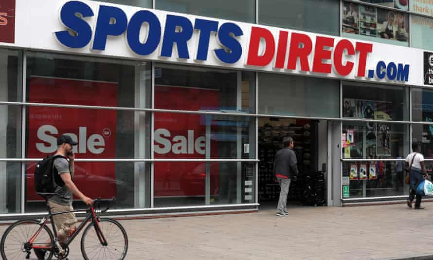 Sports Direct store in Wandsworth