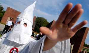 Frank Ancona called himself an imperial wizard with the Traditionalist American Knights of the Ku Klux Klan.