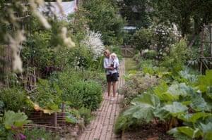 Garden at La Maison des Lamour, Brittany, France