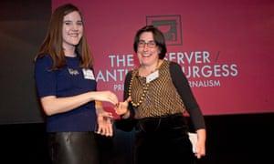 iris veysey anthony burgess prize