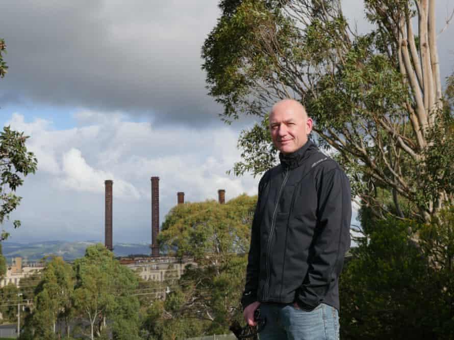 Latrobe Valley power worker Greg Dunn.
