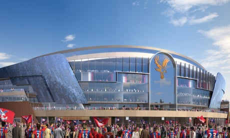 Crystal Palace reveal Selhurst Park development plans costing up to £100m