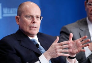 Nice work if you can get it: Stephen Hemsley, CEO of UnitedHealth, saw his pay more than double to $66.13m in 2014.