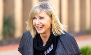 Olivia Newton-John has dispelled death rumours by posting a video on social media saying 'I'm doing great'.