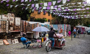 Balam's favourite haunt: San Angel, Mexico City