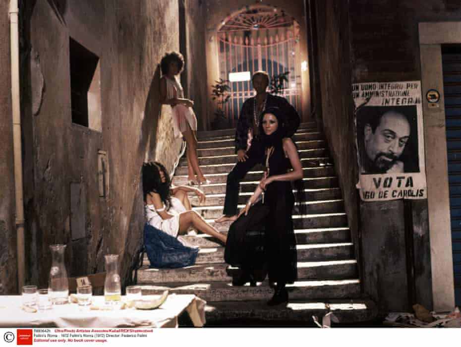 Fellini's Roma. Photograph: Ultra/Prods Artistes Associes/Kobal/Rex/Shutterstock