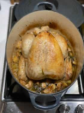 Catherine Phipps's chicken with 40 cloves of garlic for Felicity Cloake's perfect May 22 2021