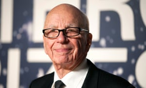 Rupert Murdoch attends the Breakthrough Prize awards ceremony at the NASA Ames Research Center in Mountain View, California