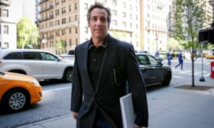 Michael Cohen in New York on Wednesday. AT&T said it did not hire Cohen to lobby on behalf of the company.