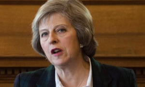 Home secretary Theresa May last week described the threat from dissident republican groups as 'substantial'.