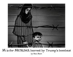 M is for Muslims, barred by Trump's bombast
