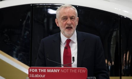 Jeremy Corbyn announcing plans for Britain to stay part of a new EU customs union