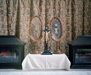 Crucifix & Relics, Downside Abbey