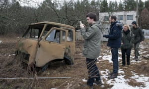 The Chernobyl exclusion zone has become a tourist attraction.