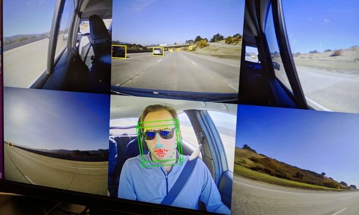 Self-driving car drove me from California to New York