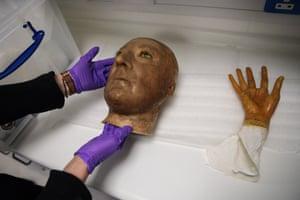 Nelson and Pitt's heads