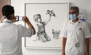 """""""New Banksy artwork pays tribute to NHS heroes"""""""