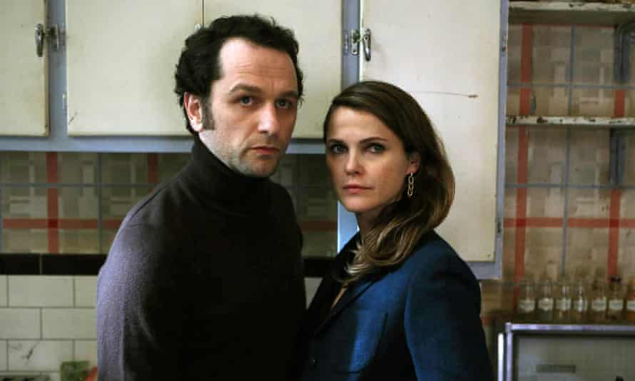 Matthew Rhys and Keri Russell in The Americans..