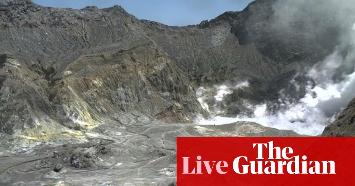 New Zealand volcano: one dead and 'likely to be more' after eruption on White Island – live | World news