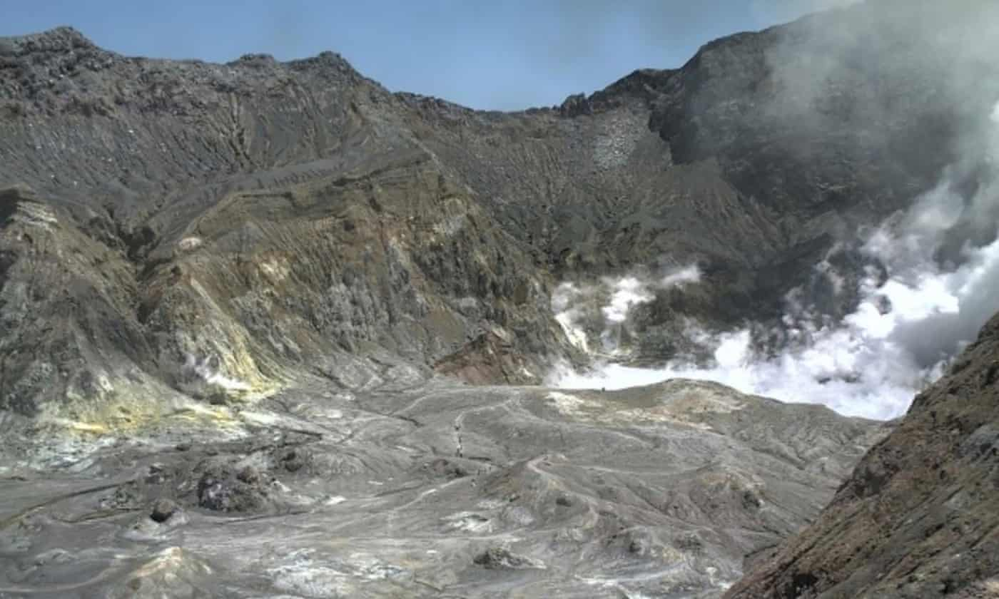 New Zealand volcano: tourists injured and missing after eruption on White Island – live