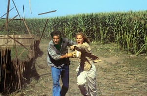 With Helen Hunt. Twister -1996