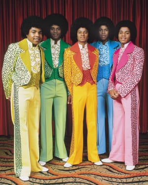 Wearing suits that look as if they were inspired by Skittles, the Jackson Five are photographed here in 1975. It's a get-up that would win them fashion-favour today – there's been a rainbow of zingy Crayola colours on catwalks in recent years, from Virgil Abloh's recent first offering for Louis Vuitton to Balenciaga and Molly Goddard. Colourful tailoring is very much in favour, too – look to next spring's offerings from Acne Studios and Dries van Noten for details.