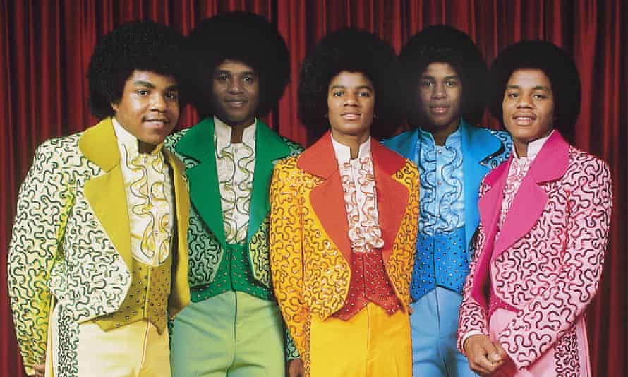 The Jackson 5, from left, Tito, Jackie, Michael, Jermaine and Marlon Jackson.
