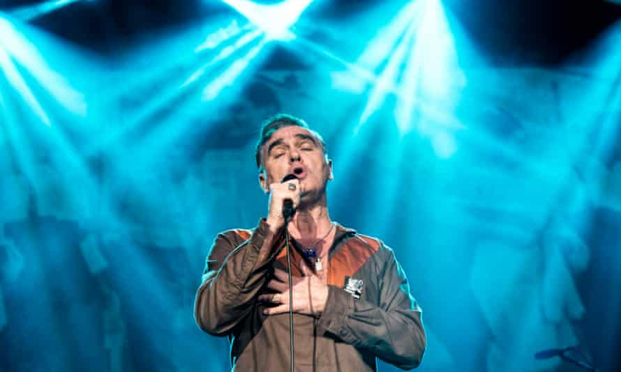 Morrissey… Don't give up the evening job.