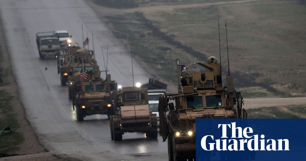 Syria troop withdrawal under way, says US-led coalition