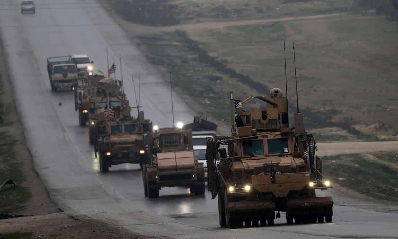 Syria troop withdrawal has begun