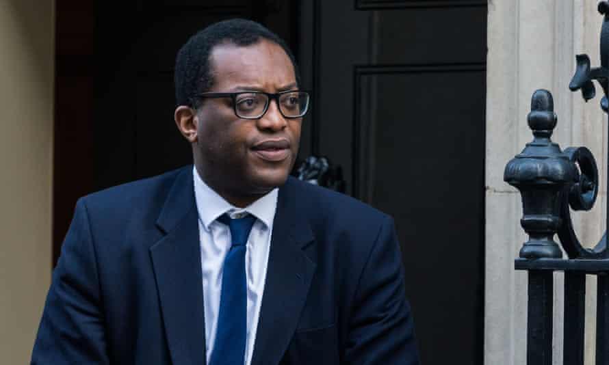 Kwasi Kwarteng leaves Downing St