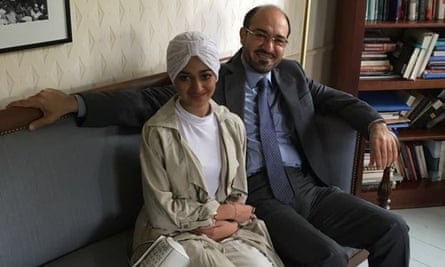 Sarah Aljabri with her father, Saad Aljabri. Along with her brother Omar, Sarah has not been seen by her family since mid-March.