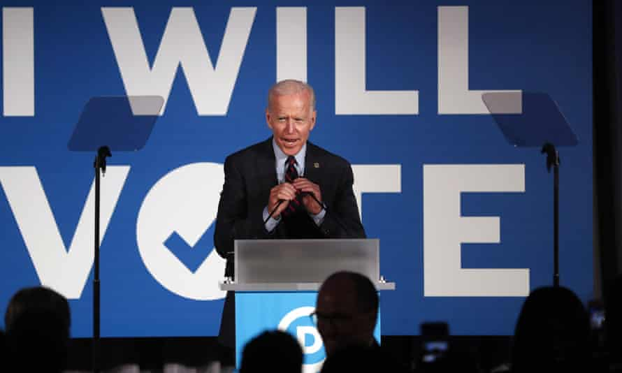 'Biden has become the target for progressives who are disappointed with the Obama-Biden administration.'