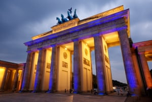 The Brandenberg Gate, Berlin.